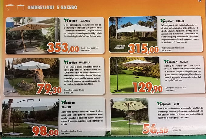 Arredo giardino bologna